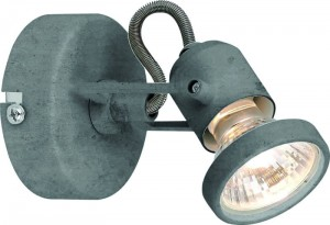 Britop spot LED CONCRETO srebrny 2728132_OUTLET