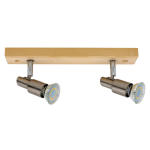 Spotlight spot LED CLASSIC WOOD satyna 2994260