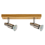 Spotlight spot LED CLASSIC WOOD satyna 2994270
