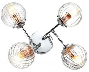 Chrom lampa podsufitowa do salonu Candellux BEST 34-67265