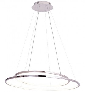 Lampa wisząca chrom do salonu Maxlight QUEEN LED P0375D