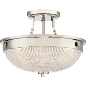 Lampa podsufitowa satyna do jadalni Elstead Mantle QZ-MANTLE-SF-IS