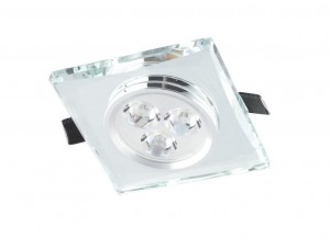 Auhilon CRYSTAL wpust LED  neutralna 3W TP-C03S