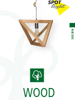 Katalog lamp marki Spotlight - linia wood